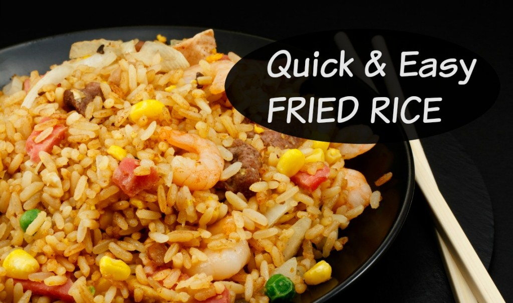 Quick and Easy Fried Rice Recipe - Working Moms Against GuiltWorking ...