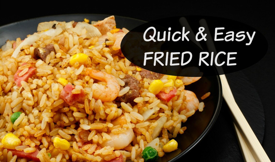 Quick and Easy Fried Rice Recipe | Working Moms Against Guilt