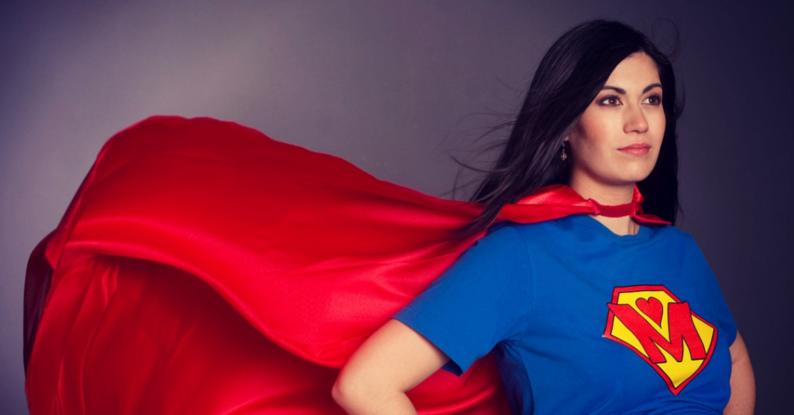 "No mom can possibly achieve the unrealistic expectations of a mythical ""Supermom."" Here's how you can ""Lose the Cape"" and redefine what being a mom means."